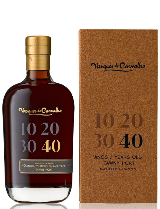 Vasques Carvalho 40 Years Tawny