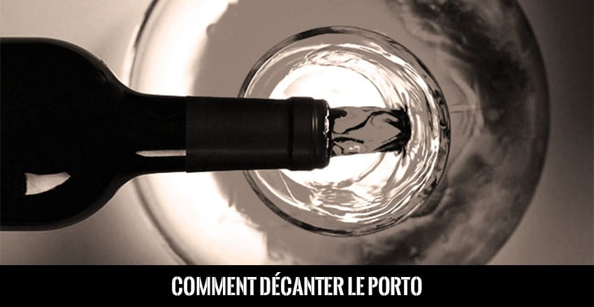 Academie Comment Decanter Vin Porto