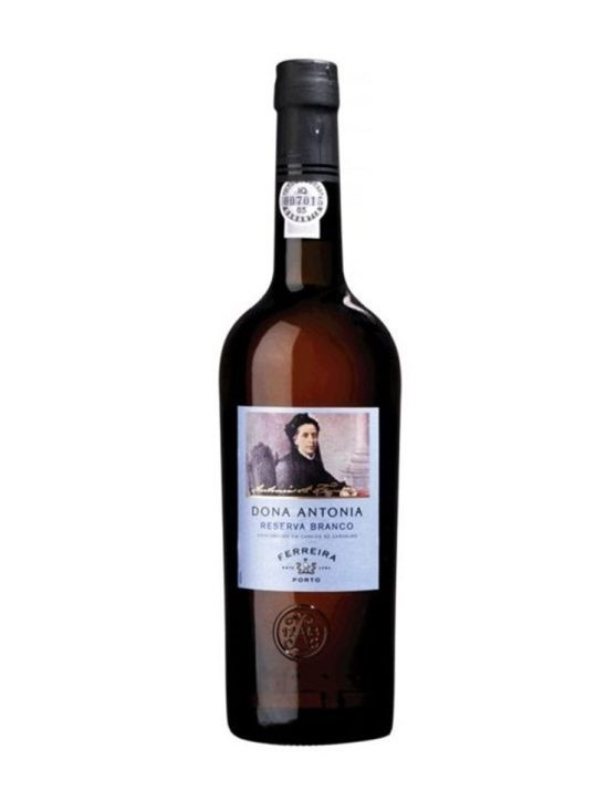 A Bottle of Ferreira Dona Antonio Reserve White