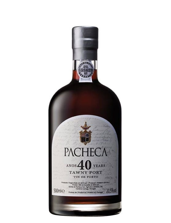 A Bottle of Quinta da Pacheca Tawny 40 Years