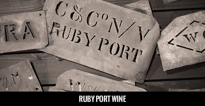 Academy Ruby Port Wine