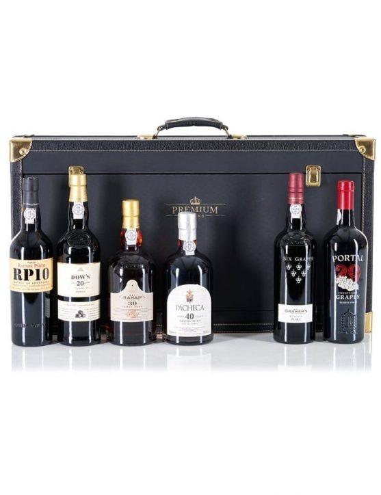 Une bouteille de Le Set de Cadeau 100 ans & 35 Raisins