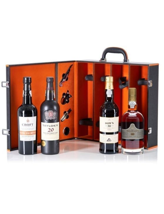A Bottle of 100 Years of Port Wine Gift Set