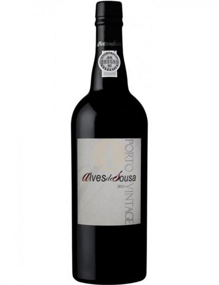 A Bottle of Alves de Sousa Vintage 2011 Port Wine