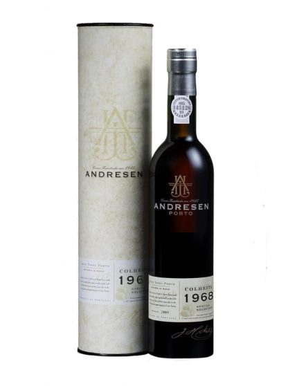 A Bottle of Andresen Harvest 1968 Port