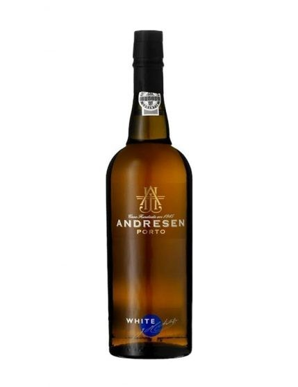A Bottle of Andresen White Port