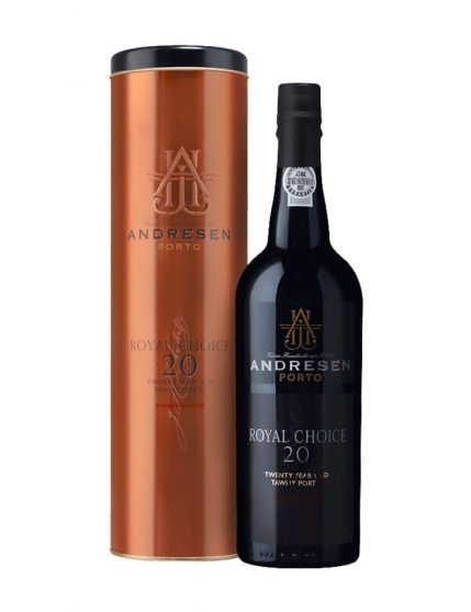 A Bottle of Andresen Royal Choice 20 Years Tawny Port
