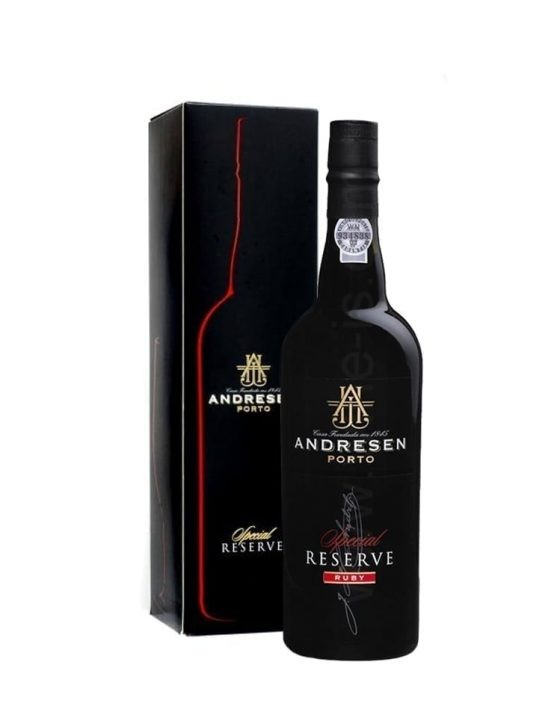 A Bottle of Andresen Ruby Special Reserve