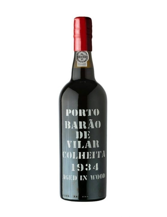 A Bottle of Barão de Vilar Harvest 1934