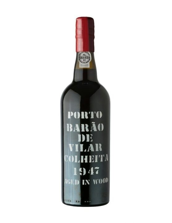 A Bottle of Barão de Vilar Harvest 1947