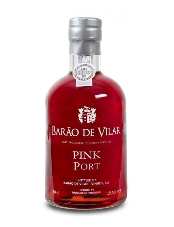 Eine Flasche Barão de Vilar Pink Port