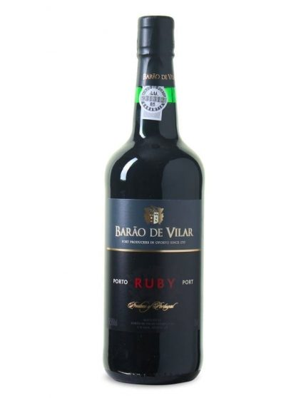 A Bottle of Barão de Vilar Ruby