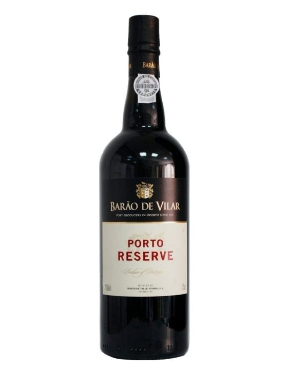 A Bottle of Barão de Vilar Reserve Ruby