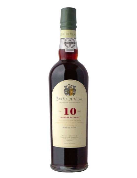 A Bottle of Barão de Vilar 10 Years Tawny Sublime (50 cl)