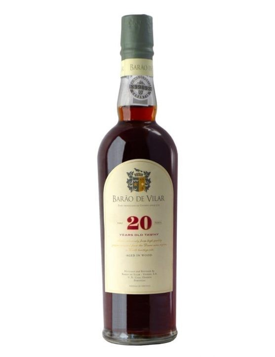 A Bottle of Barão de Vilar 20 Years Tawny Sublime (50 cl)