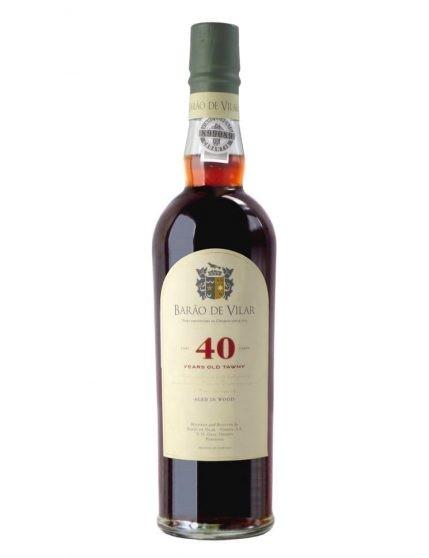 A Bottle of Barão de Vilar 40 Years Tawny Sublime with Case (50 cl)