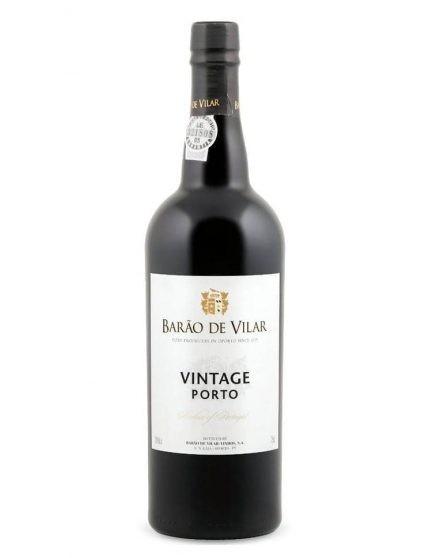 A Bottle of Barão de Vilar Vintage 1997 Port