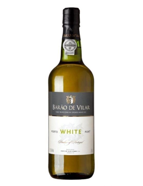 Une bouteille de Barão de Vilar Blanc