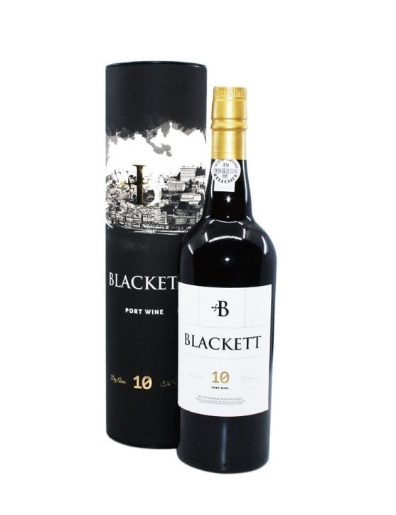 A Bottle of Blackett 10 Years Tawny