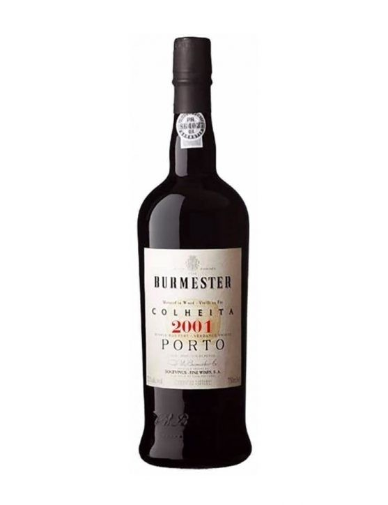 A Bottle of Burmester Harvest 2001 Port
