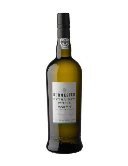 A Bottle of Burmester Extra Dry White Port