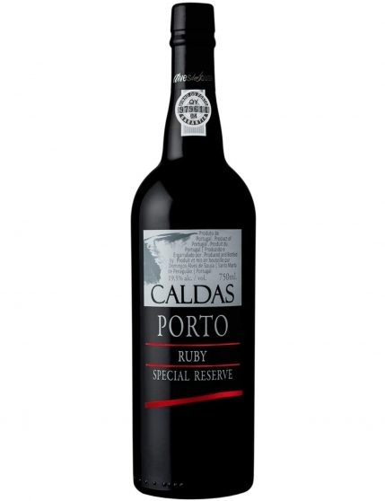 A Bottle of Caldas Port Ruby Special Reserve