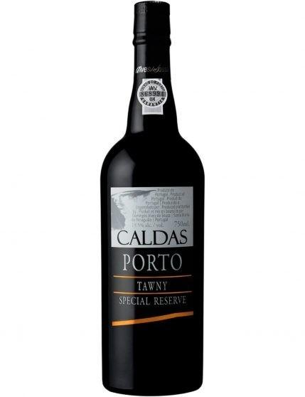 Une bouteille de Caldas Tawny Port Special Reserve Porto