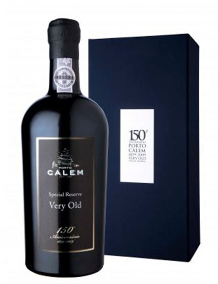 A Bottle of Calém Special Reserve Very Old 150º Anniversary