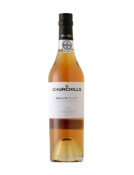 Une bouteille de Churchill's Dry Blanc 50cl