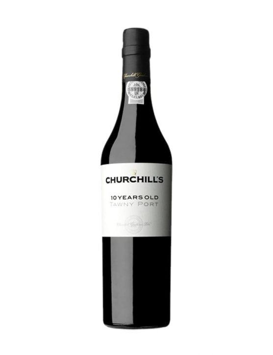 Eine Flasche Churchill's Tawny 10 Jahre 50cl