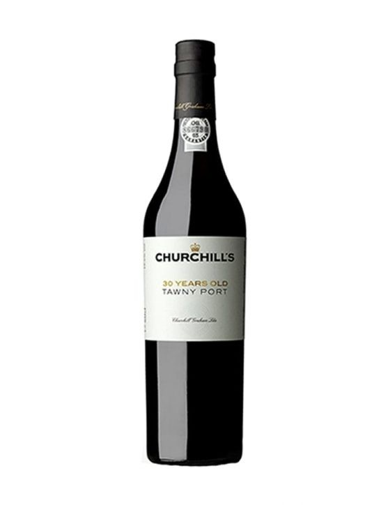 Une bouteille de Churchill's Tawny 30 Ans 50cl