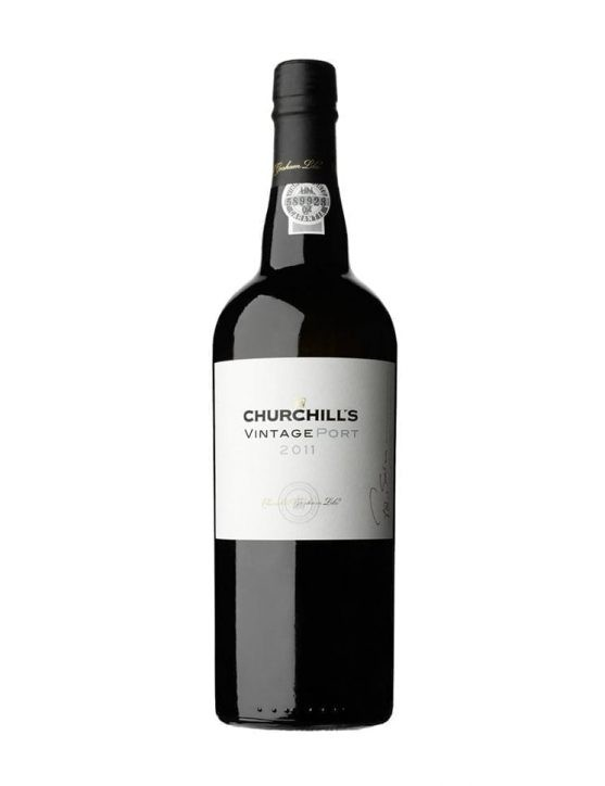 A Bottle of Churchill's Vintage 2011