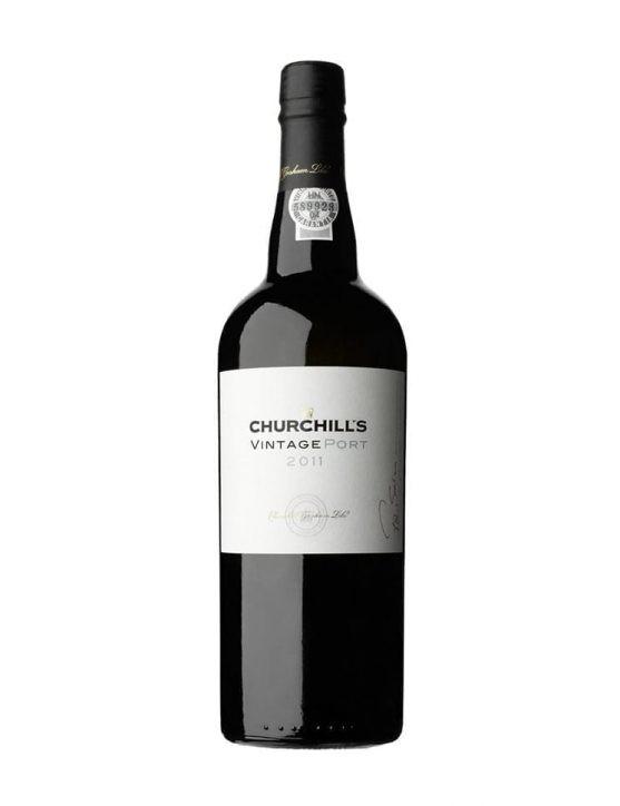 Eine Flasche Churchill's Vintage 2011