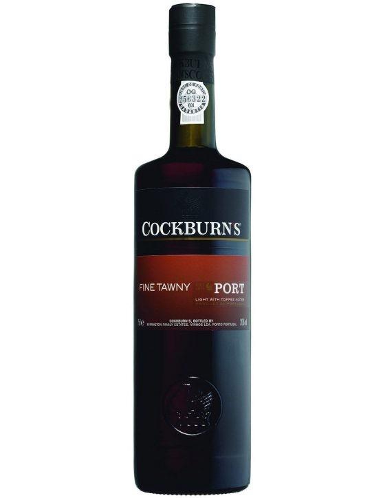 Une bouteille de Cockburn's Fine Tawny