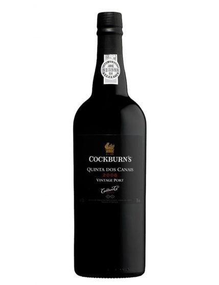 Une bouteille de Cockburn's Quinta dos Canais Vintage 2006 Porto