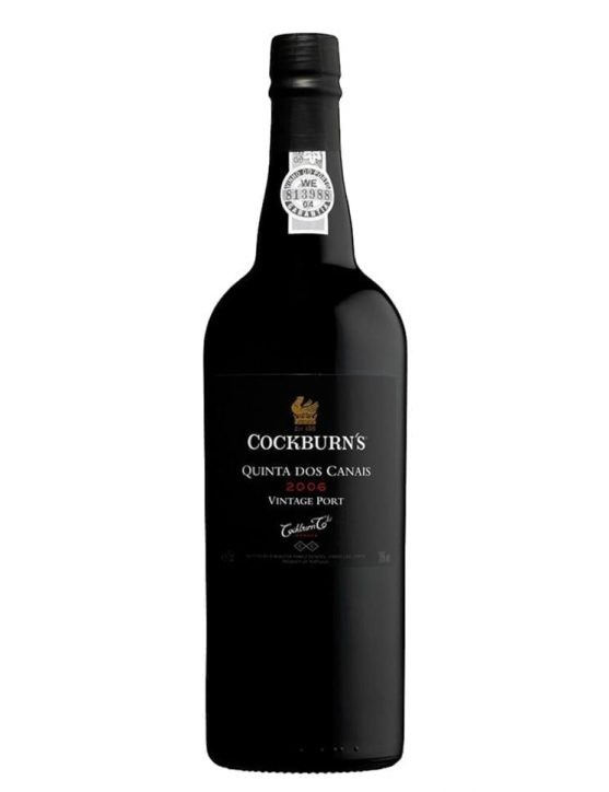A Bottle of Cockburn's Quinta dos Canais Vintage 2006
