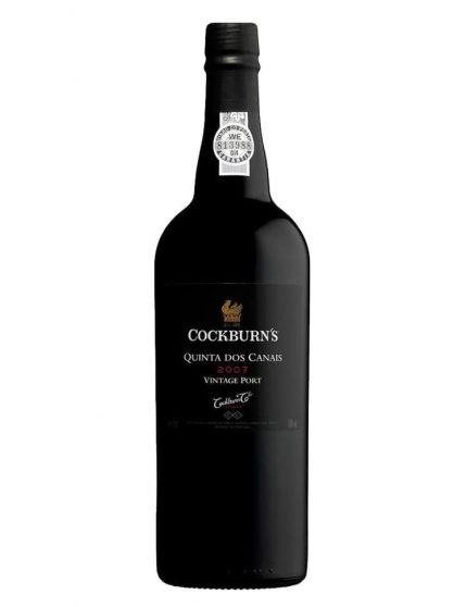 A Bottle of Cockburn's Quinta dos Canais Vintage 2007