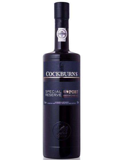 A Bottle of Cockburn's Special Reserve Port Wine