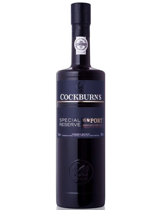 A Bottle of Cockburn's Special Reserve Port Wine