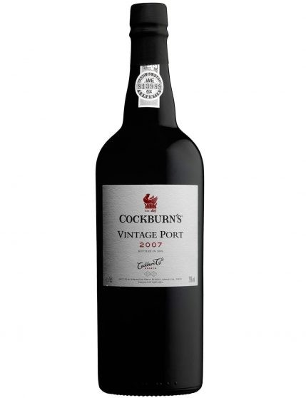 A Bottle of Cockburn's Vintage 2007