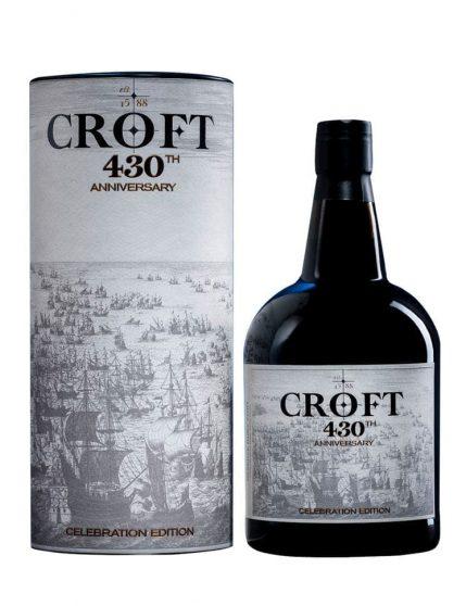 Uma Garrafa de Croft 430th Anniversary