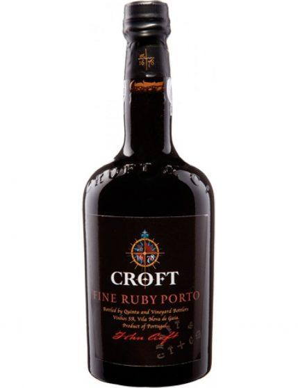A Bottle of Croft Ruby Port