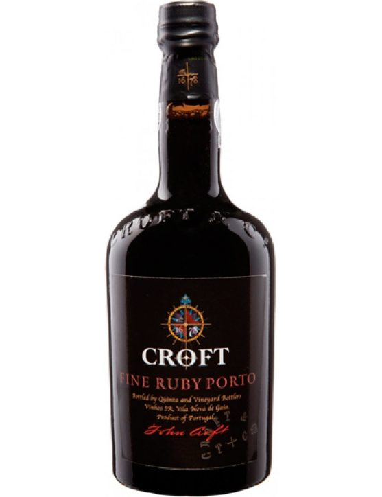 A Bottle of Croft Ruby Port