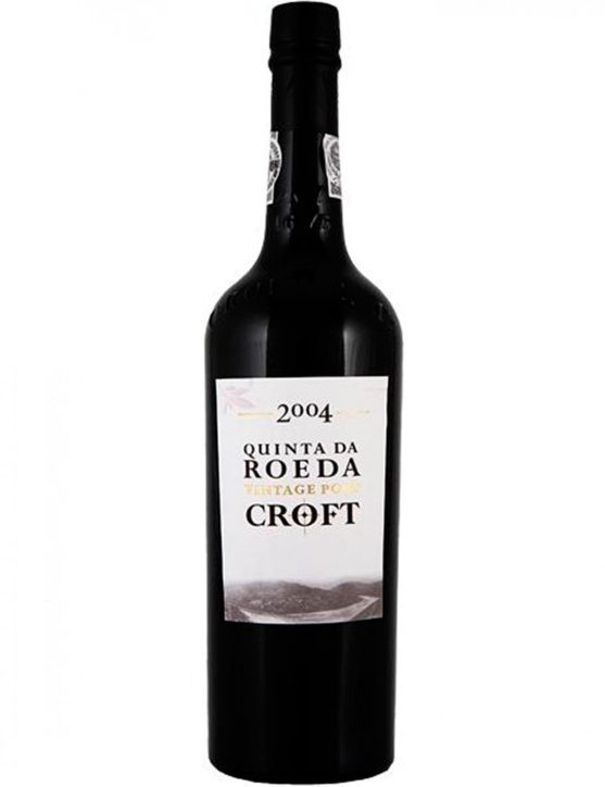 A Bottle of Croft Vintage Quinta da Roeda 2004 Port