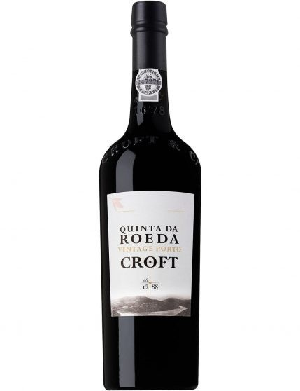 A Bottle of Croft Vintage Quinta da Roeda 2005