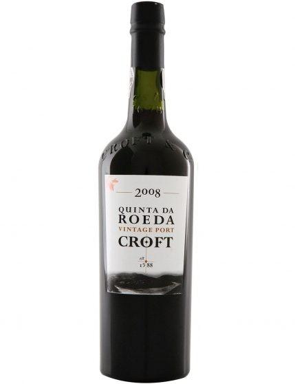 A Bottle of Croft Vintage Quinta da Roeda 2008 Port