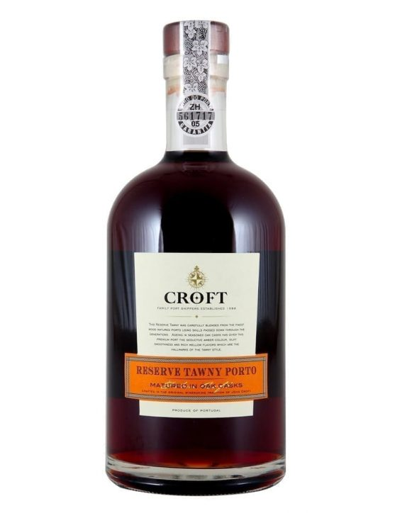 A Bottle of Croft Reserve Tawny