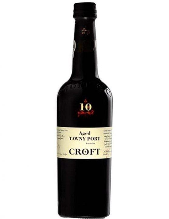 Une bouteille de Croft Tawny 10 Ans