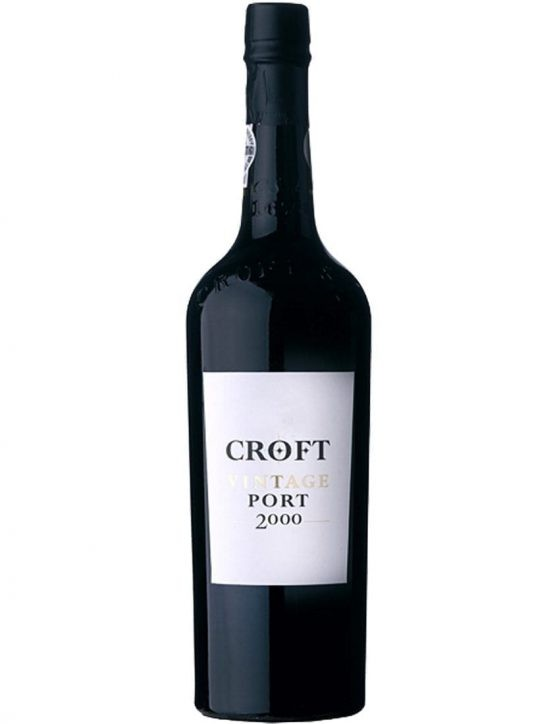 A Bottle of Croft Vintage 2000 1.5l Port