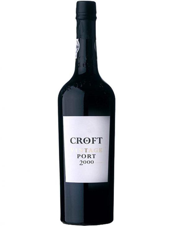 Eine Flasche Croft Vintage 2000